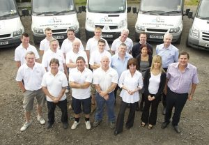 Staff at BeSure Services