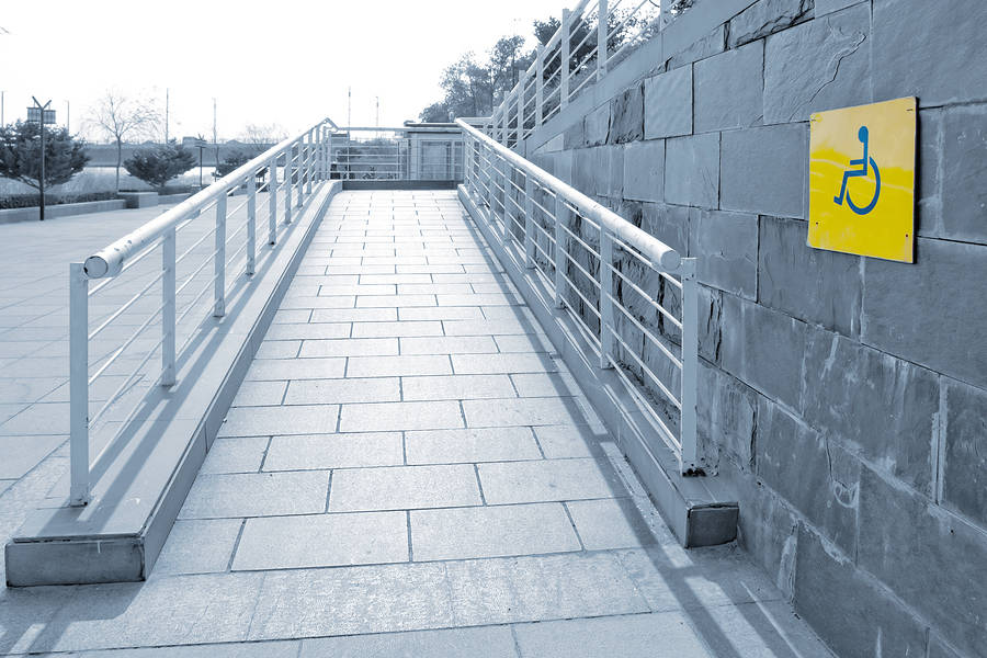 Disabled Adaptations - Exterior Ramps / Steps